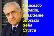 Prof. Francesco Sabatini:  «La scuola ha smesso di insegnare l'italiano»