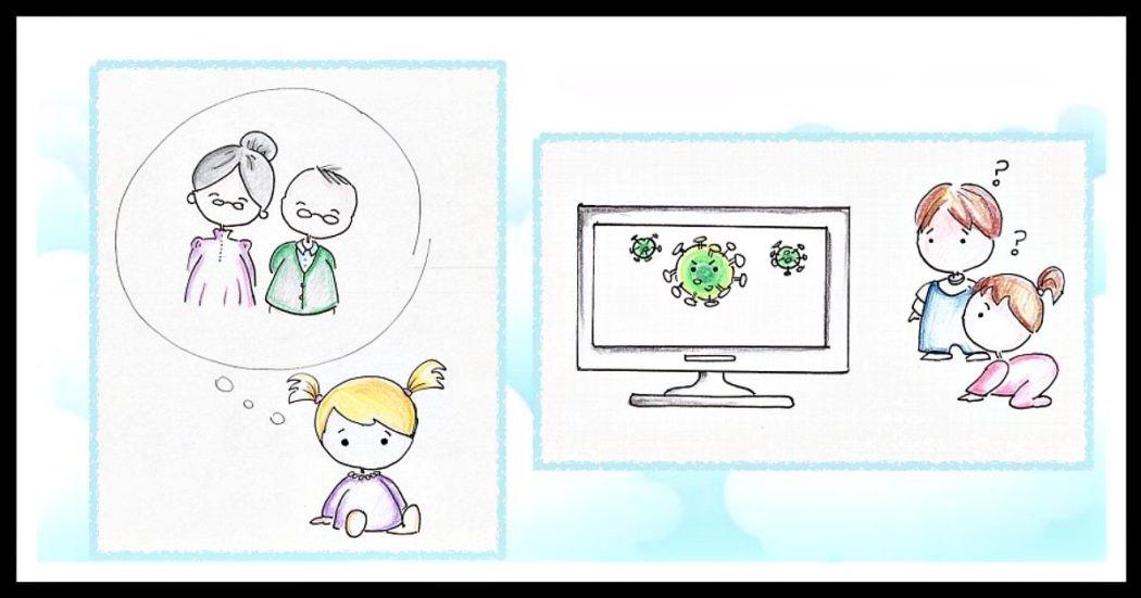 Coronavirus: bimbi, quarantena e strategie per aiutarli